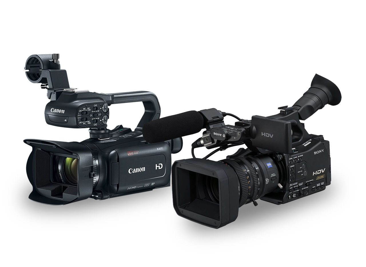 Picture for category Professional Video Cameras