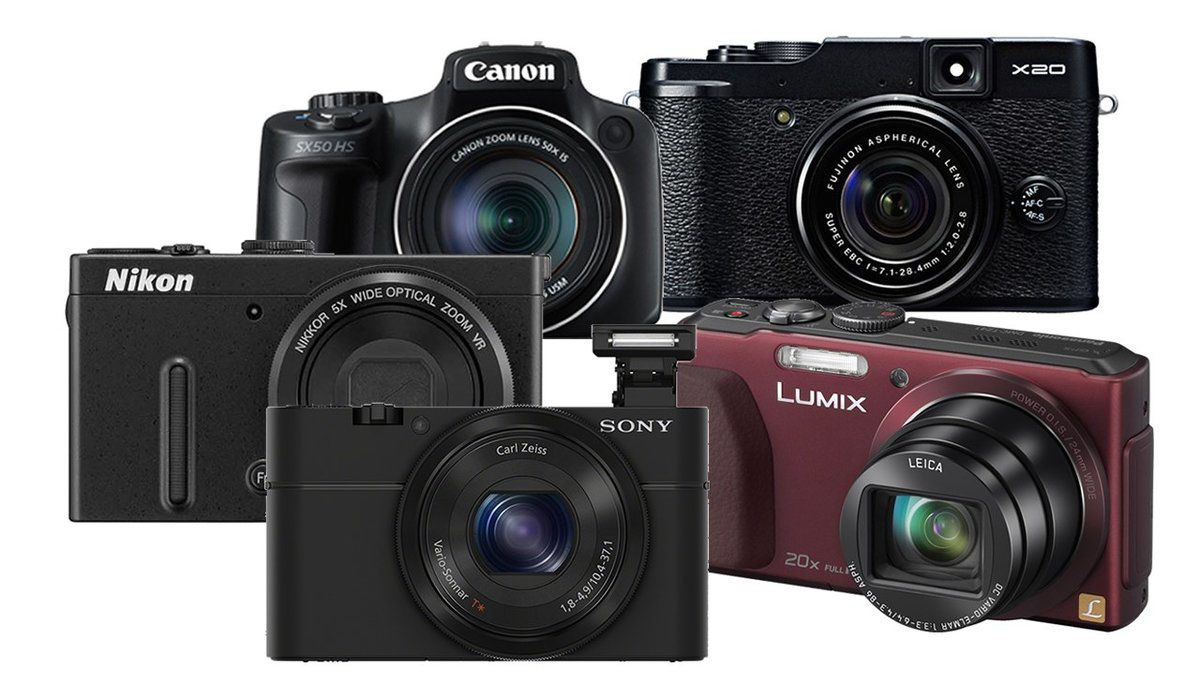 Picture for category Digital Point & Shoot Cameras