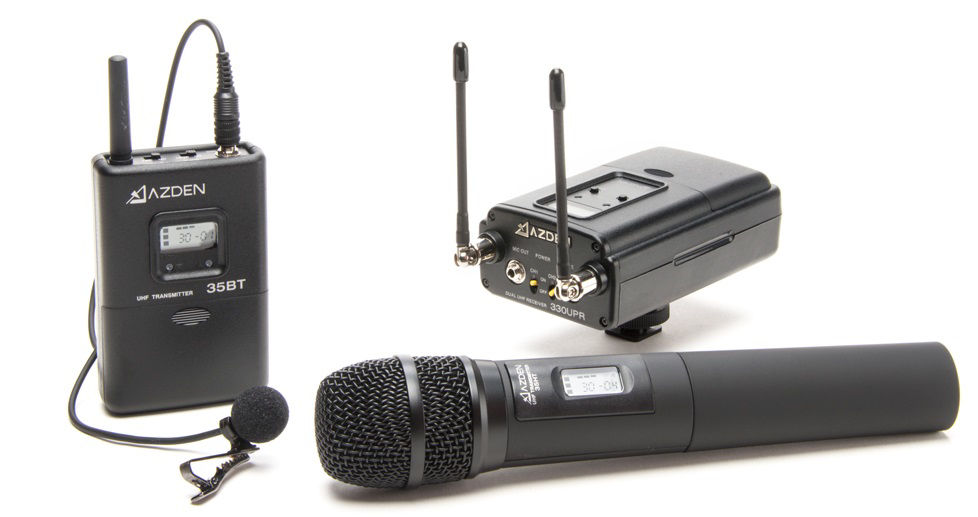Picture for category Handheld Wireless Microphone Sy