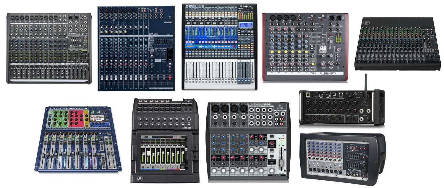 Picture for category Multimedia Mixers & Live Produc