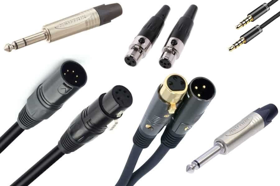 Picture for category Microphone Cables & Adapters