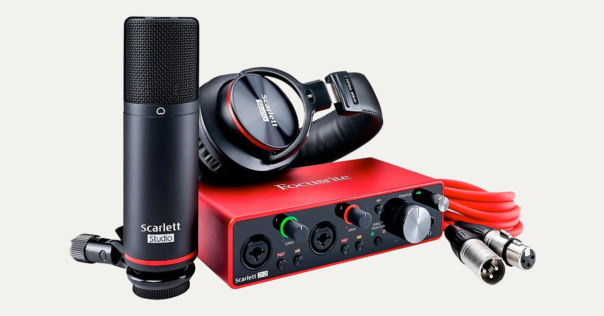 Picture for category Studio Equipment