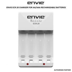 Picture of Envie ECR 20 Charger For AA/AAA Rechargeable Batteries