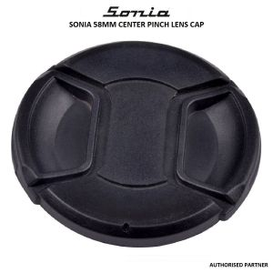 Picture of Center Pinch Caps Plain 58mm