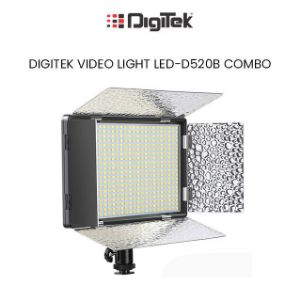 Picture of Digitek Professional LED Video Light D520 with Battery and Charger