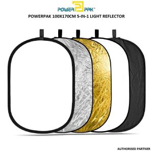 Picture of Powerpak 5 in 1 RFT05 Collapsible Photo Light Reflector 100 X 170 cm