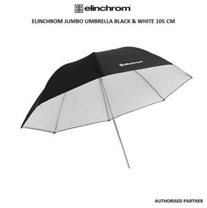 Picture of Elinchrom Jumbo Umbrella Black & White 105 cm