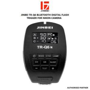 Picture of Jinbei TR-Q6 Bluetooth Digital Flash Trigger for Nikon Cameras