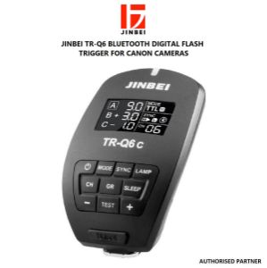 Picture of Jinbei TR-Q6 Bluetooth Digital Flash Trigger for Canon Cameras
