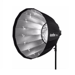 Picture of Godox P90H High-Temperature Resistant Version 35 Inch/ 90cm 16 Rods Portable Umbrella Brolly Reflector for Studio Photo Flash (Black)