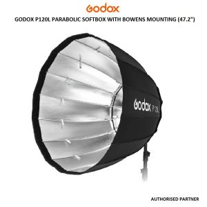 """Picture of Godox P120L Parabolic Softbox with Bowens Mounting (47.2"""")"""