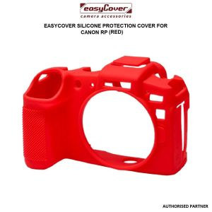 Picture of easyCover Silicone Protection Cover for Canon RP (Red)