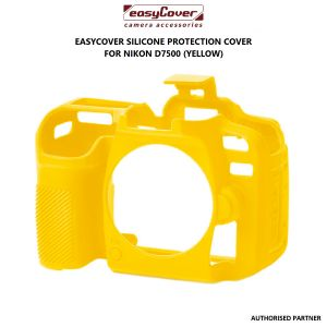 Picture of easyCover Silicone Protection Cover for Nikon D7500 (Yellow)