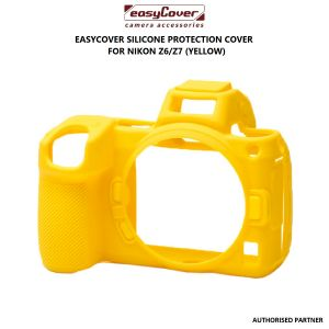 Picture of easyCover Silicone Protection Cover for Nikon Z6/Z7 (Yellow)