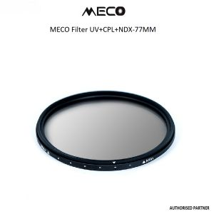 Picture of MECO 77MM UV+CPL+NDX FILTER
