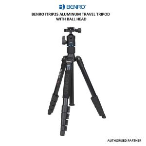 Picture of Benro iTrip25 Aluminum Travel Tripod with Ball Head