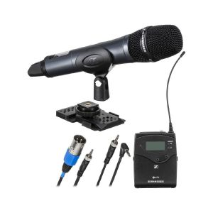 Picture of Sennheiser EW 135P G4 Camera-Mount Wireless Cardioid Handheld Microphone System