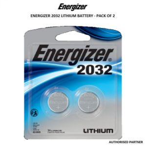Picture of Energizer CR2032 Lithium Coin Battery (2-Pack)