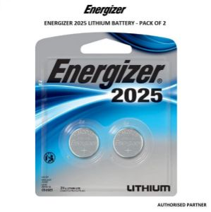 Picture of Energizer CR2025 Lithium Coin Battery (2-Pack)