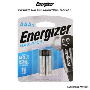 Picture of Energizer Max Plus AAA Battery (2-Pack)
