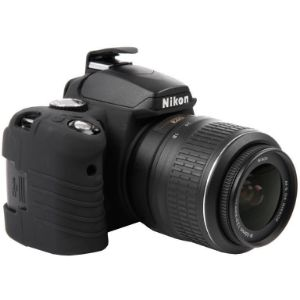 Picture of EasyCover Silicone Protective Camera Case Cover for Nikon D40 /D60(Black)