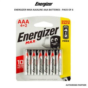 Picture of Energizer Max AAA Batteries (6-pack)