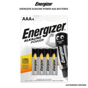 Picture of Energizer Alkaline Power AAA Batteries (4-Pack)