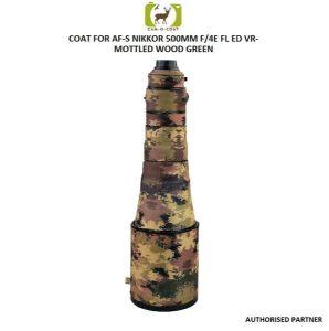 Picture of Coat for Nikkor 500mm F4  FL ED VR (Mottled Wood Green)