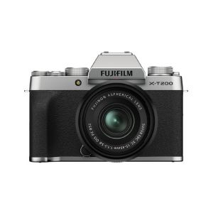 Picture of Fujifilm X-T200 Mirrorless Digital Camera with 15-45mm Lens (Silver)