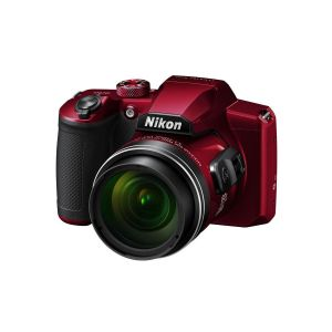 Picture of Nikon Coolpix B600 16.0 MP Point-and-Shoot Digital Camera (Red)