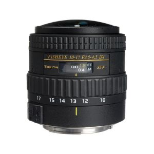 Picture of Tokina AT-X 107 AF NH Fisheye 10-17mm f/3.5-4.5 Lens for Canon