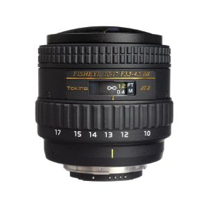 Picture of Tokina AT-X 107 AF DX NH Fisheye 10-17mm f/3.5-4.5 Lens for Nikon