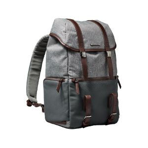 Picture of Manfrotto Windsor Camera and Laptop Backpack for DSLR (Gray)