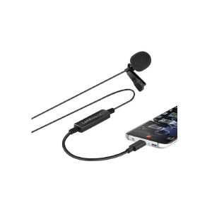 Picture of Saramonic LavMicro-UC Omnidirectional Lavalier Mic for USB Type-C Devices with Signal Converter