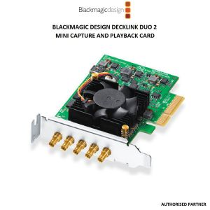 Picture of Blackmagic Design DeckLink Duo 2 Mini Capture and Playback Card