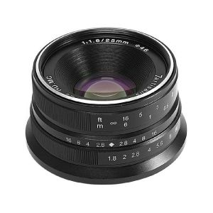 Picture of 7artisans Photoelectric 25mm f/1.8 Lens for Canon EF-M (Black)