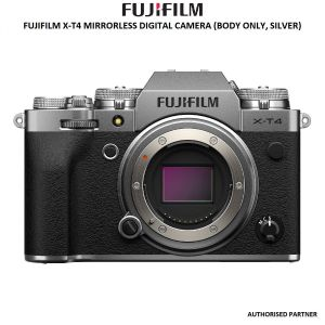 Picture of FUJIFILM X-T4 Mirrorless Digital Camera (Body Only, Silver)