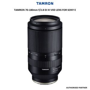 Picture of Tamron 70-180mm f/2.8 Di III VXD Lens for Sony E