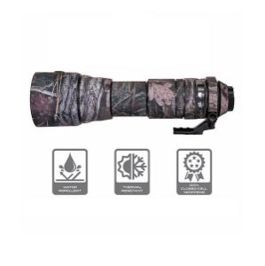 Picture of CamArmour Lens Cover for Tamron SP 150-600mm f/5-6.3 Di VC USD (Desiccated Wood-Web)
