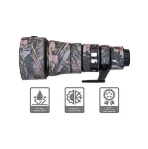 Picture of CamArmour Lens Cover for Nikon AF-S NIKKOR 500mm f/5.6E PF ED VR (Desiccated Wood-Web Camouflage)