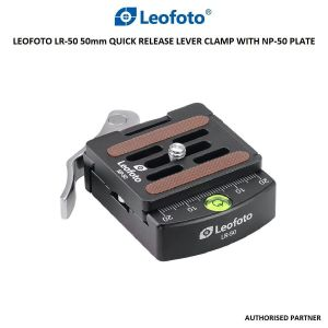 Picture of Leofoto LR-50 50mm Quick Release Lever Clamp with NP-50 Plate