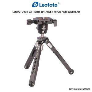 Picture of Leofoto MT-03 + MTB-19 Spider Mini Table Tripod and Ballhead