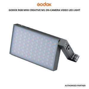 Picture of Godox RGB Mini Creative M1 On-Camera Video LED Light (Grey)