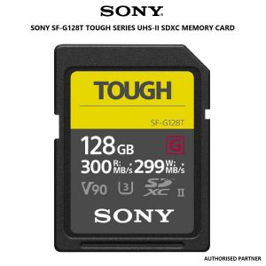 Picture of SONY SF-G128T Tough Series UHS-II SDXC Memory Card