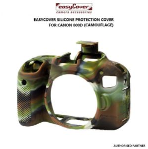 Picture of easyCover Silicone Protection Cover for Canon 800D (Camouflage)