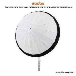 "Picture of Godox Black and Silver Diffuser for 41.3"" Parabolic Umbrellas"
