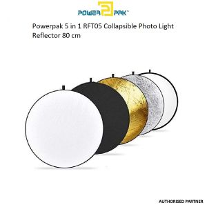 Picture of Powerpak 5 in 1 RFT05 Collapsible Photo Light Reflector 80 cm