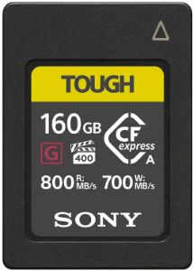 Picture of Sony CEA-G160T Compact Flash Express Memory Card