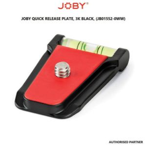 Picture of Joby Quick Relase Plate, QR Plate, 3K Black, Compact (JB01552-0WW)