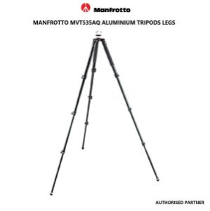 Picture of Manfrotto MVT535AQ Aluminum Tripod Legs with 75mm Bowl